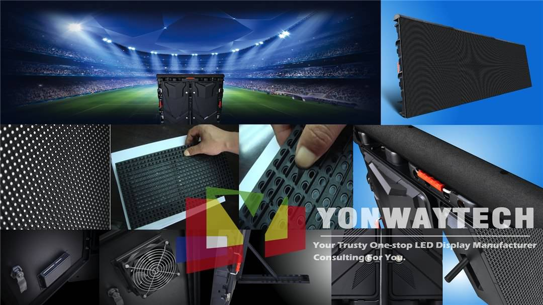 Factory Price Digital Poster - P5 P6 P8 P10 P16 Stadium Perimeter Sport LED Display Screen – Yonwaytech
