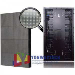 High definition Unilumin Liantronics - Dacing Floor LED Display Tile / Interactive LED Video Floor Display – Yonwaytech