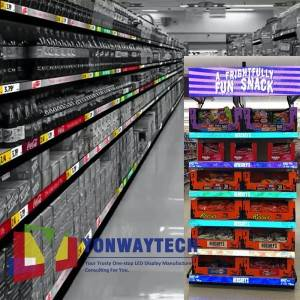 2021 Latest Design Led Price Tags - P0.9375,P1.25,P1.56,P1.875 Smartshelf LED Banner Display,Digital Price Tags Screen. – Yonwaytech