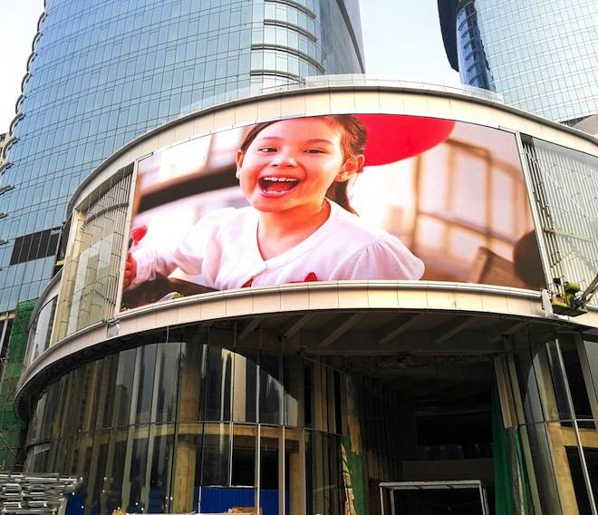 Reasonable price Transparent Led Screen - 192mmX192mm Frontal Service P6mm outdoor LED module display  – Yonwaytech