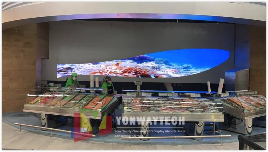 Reasonable price Transparent Videowall - Indoor Fixed p2 p2.5 p3 p4 p5 p6 p7.62 Commercial Advertising LED Screen – Yonwaytech Featured Image