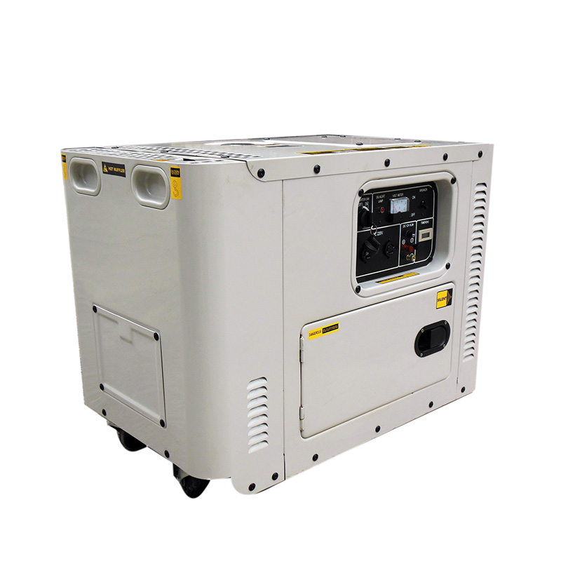 Rapid Delivery for Green Power Generator - 5kw open/silent air cooled diesel generator set – Your Like detail pictures