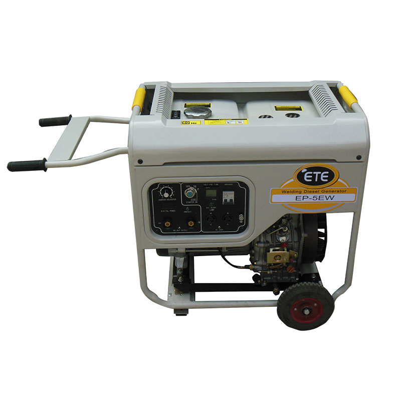 Reasonable price for Self Running Generator - 5kw welding diesel generator set – Your Like Featured Image