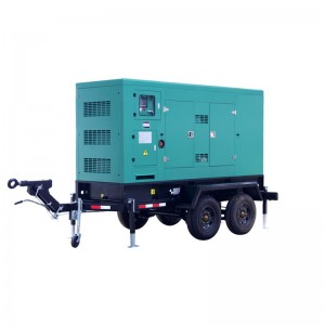OEM Customized China Generator - Moveable/trailer Type Diesel Generator Set – Your Like