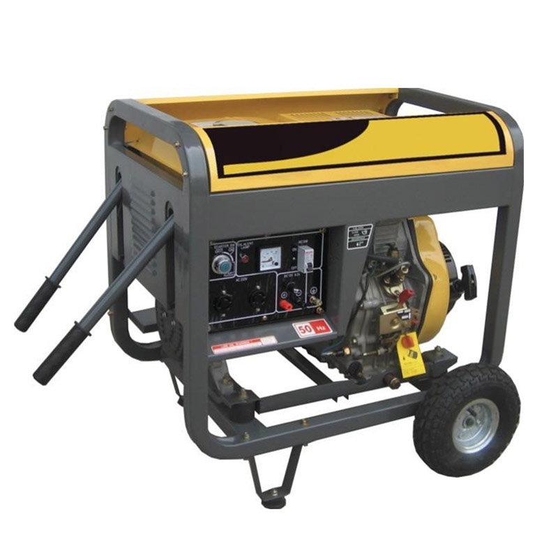 Rapid Delivery for Green Power Generator - 5kw open/silent air cooled diesel generator set – Your Like