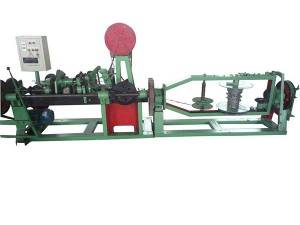 Double Strand Barbed Wire Machine