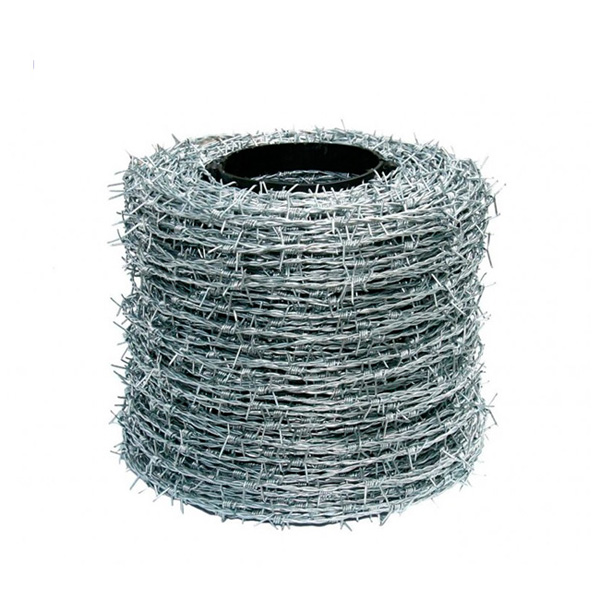 Factory supplied Galvanized Razor Wire - Galvanized or PVC coated Barbed wire Cheap Barbed   wire – YouYou