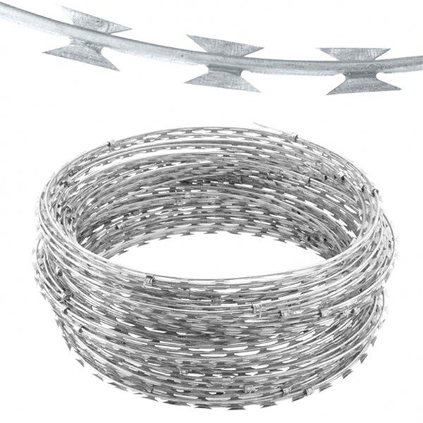 100% Original Galvanized Steel Wire Iron Wire Chinese Supplier - Iron Wire Material Anti-rust razor blade  wire for sale – YouYou