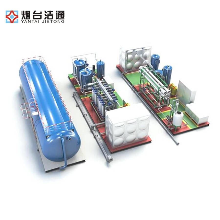 Manufacturer for 20″Container Type Seawater Desalination Machine - Steam Boiler Feeding Water Treatment System – Jietong Water Treatment Featured Image