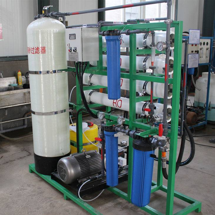 Top Suppliers Seawater Reverse Osmosis Desalination Plant - Small Size Seawtater Desalination Machine – Jietong Water Treatment detail pictures