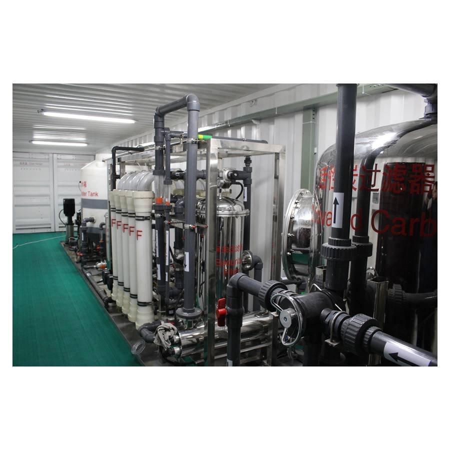 Hot-selling Brackish Desalination - Container Type Seawater Desalination Machine – Jietong Water Treatment