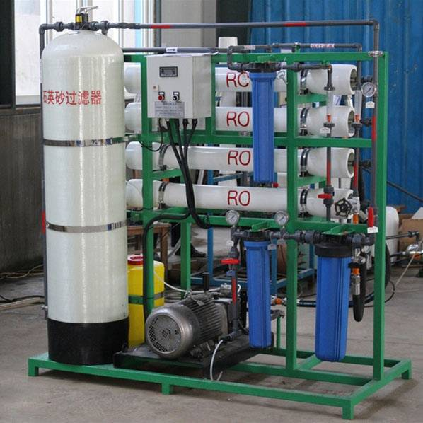 Hot-selling Brackish Desalination - Small Size Seawtater Desalination Machine – Jietong Water Treatment