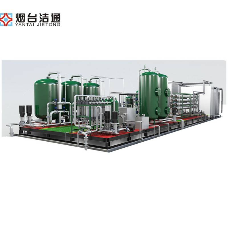 High Quality Well Water Purification Filter Machine - High Pure Water Making Machine Brackish Water Purfication Filter – Jietong Water Treatment