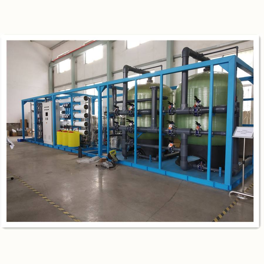 Fast delivery Automatic Water Treatment Desalination Machine - Brackish Water Purification Machine – Jietong Water Treatment detail pictures