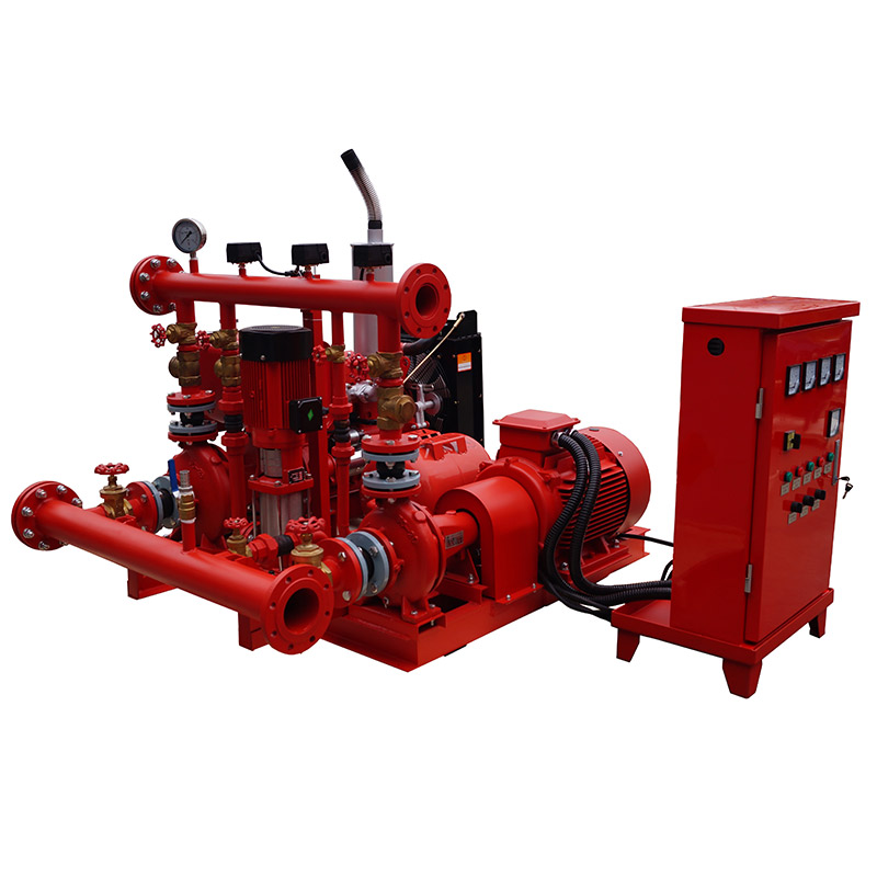 China 4 Cylinder Diesel Engine Manufacturers - Fire & water pump set – YTO POWER