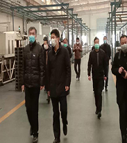 Deputy director of Jiangyan District inspected Yangdong Co., Ltd