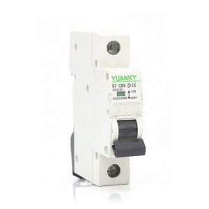 Wholesale IEC60898 1P 2P 3P 4P 63 Amp Types for L7 circuit breakers home mcb 2amp