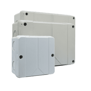 Switch box manufacturer waterproof plastic ABS PC IP65 economical junction boxes