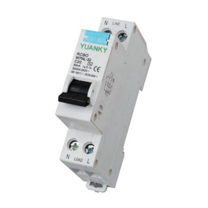 Hot Sale for Isolating Switch - Electrical supply hot selling 1P+N 6a 10a 16a 20a 25a 32a residual current breaker overload rcbo – Hawai