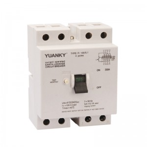 Wholesale 1P+N Hwl Residual Current Circuit Breaker With Overcurrent Protection Rcbo Supplier