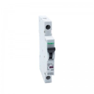 High reputation 4 Pole Smart Mccb – Wholesale 9mm 1 pole wifi Micro Circuit Breaker mcb Miniature Circuit Breakers – Hawai
