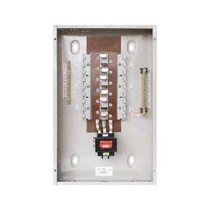 Distribution board 12 way YMP plug in design for indoor applications panel board