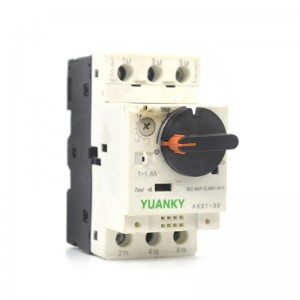 MPCB Electrical Supplier 0.1-25A Motor Protection Circuit Breaker