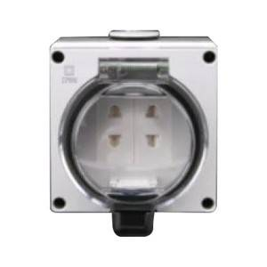 Switch socket OEM ODM OBM waterproof IP66 switch socket five hole series waterproof switches sockets