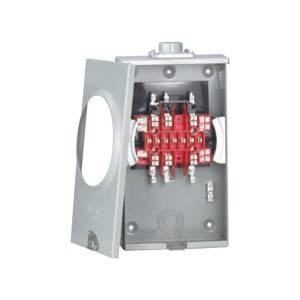Meter sockets manufacturer round square combination 1phase 100A 125A meter socket