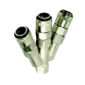 Connector YUANKY Fast Insert Joint Series Pure metal Pneumatic Fast Connector pneumatic fittings quick connector