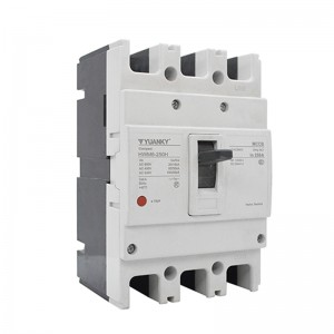MCCB 3P Electrical Factory Price 3 Phase 250a Moulded Case Circuit Breaker