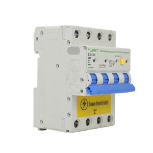 Wholesale 4 Pole Electrical Series Rcbo Residua...