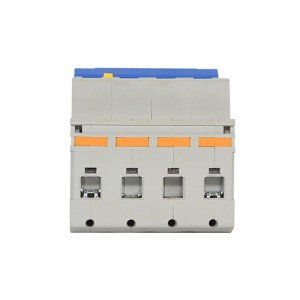 RCBO 4 Pole Electrical Series Rcbo Residual Current Breaker Overload
