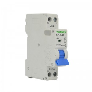 MCB 40 Amp 230V 1P+N Mini Circuit Breaker Mcb Distribution Box Size