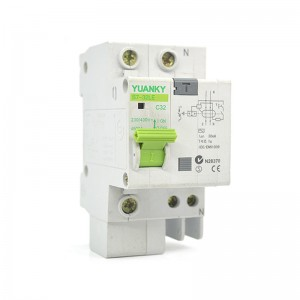 ELCB IEC61009-1 1phase 20a Elcb Rating For Earth-Leakage Circuit-Breaker