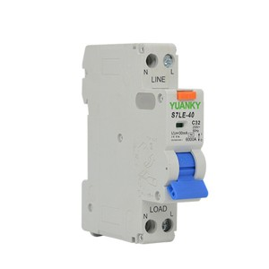 Wholesale S7LE-40 Series Resdual current breaker overload industrial circuit breaker