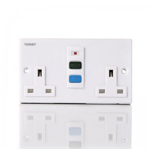 Factory wholesale Protable Switch&Socket - RCD Single power switch socket for wall sockets and switches – Hawai
