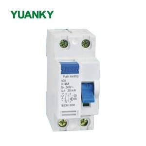 High Quality for Vcb - Wholesale electromagnetic type rccb 2p 4p 25a residual current circuit breaker – Hawai