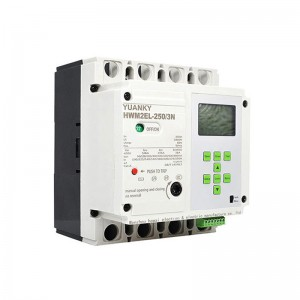 MCCB high breaking capacity intelligent HWM3EL ...