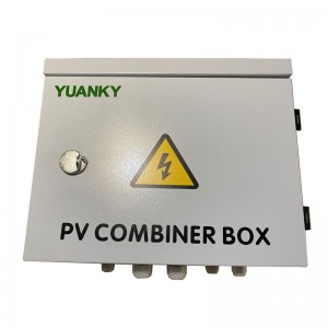 Combiner box electrical supplier dc 15a 20 strings solar pv combiner box