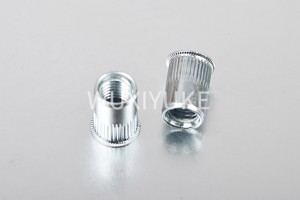 Original Factory Flat Head Full Hexagonal Body Rivet Nut - Small CSK Open End Rivet Nut – Yuke