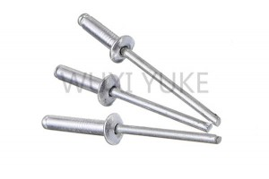 2020 Good Quality Blind Rivet Military Fasteners - Aluminum Steel Dome Head Blind Rivet – Yuke