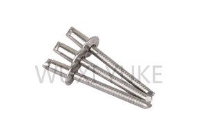 China Manufacturer for Flat Head Open End Blind Rivet Nut Head Type - Dome Head Blind Rivet Stainless Steel – Yuke