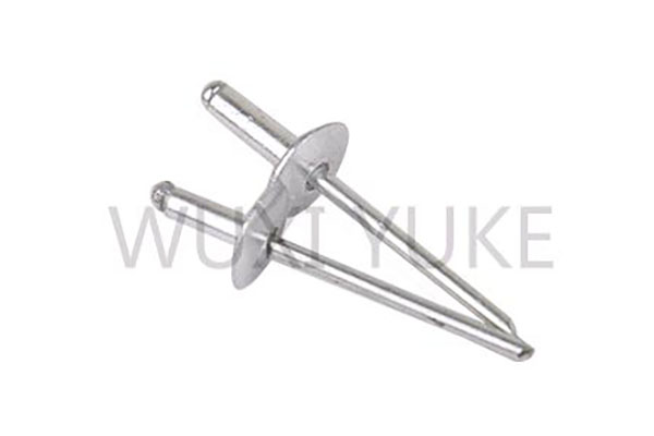 Online Exporter Aluminum Steel Closed End Sealed Type Blind Rivet - Aluminum Dome Head Blind Rivet With Large Head – Yuke