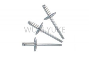 Factory selling Full Stainless Steel Seal End Blind Rivet - Full Steel Dome Head Blind Rivet With Large Head   – Yuke
