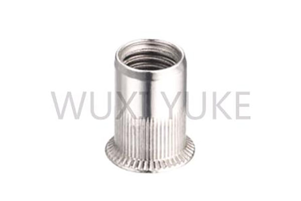 Factory Supply M12 Countersunk Head Rivet Nut - Rivet Nut Countersunk Knurled Open End description – Yuke
