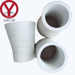 Alumina Ceramic Cyclone Cones for Lining Pipe