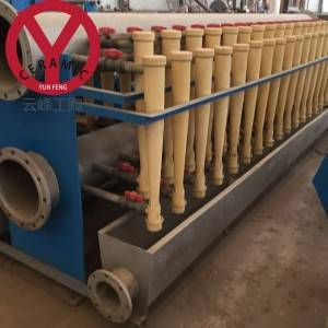 China OEM Middle Consistency Cleaner Equipment - Low Consistency Sand Remover Desander in Pulp Making Line – YUNFENG