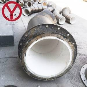 Cheap price Dewatering Machine - Ceramic Lined Elbow Pipe – YUNFENG