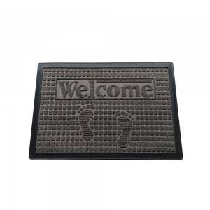 Yiwu Market Agent - High quality rubber doormat pp surface floor mat with cheap price  – Yunis